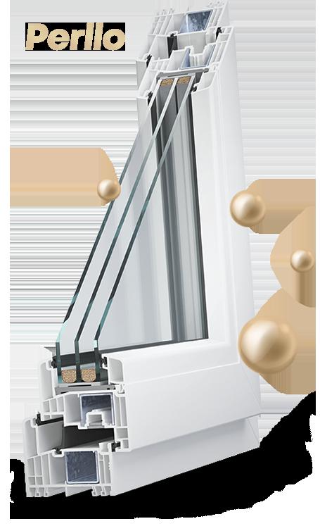 okno perllo PCV